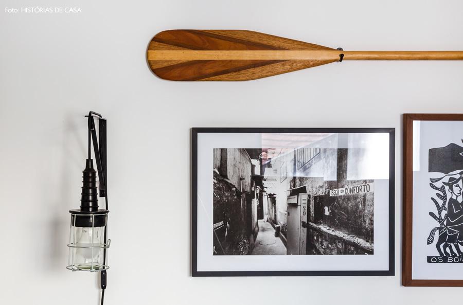 27-decoracao-parede-quadros-remo-madeira-arandela