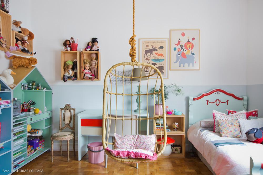 40-decoracao-quarto-menina-cadeira-balanco-suspensa-verde-menta