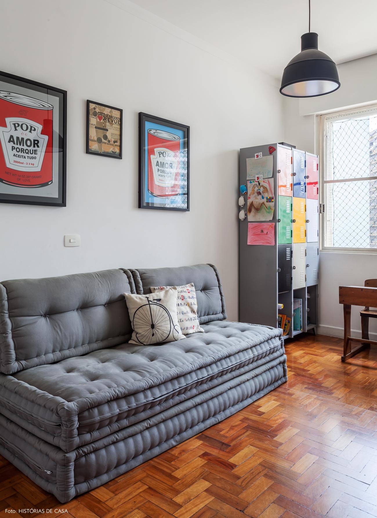 31-decoracao-apartamento-quarto-de-brincar-sofa-futon-cinza