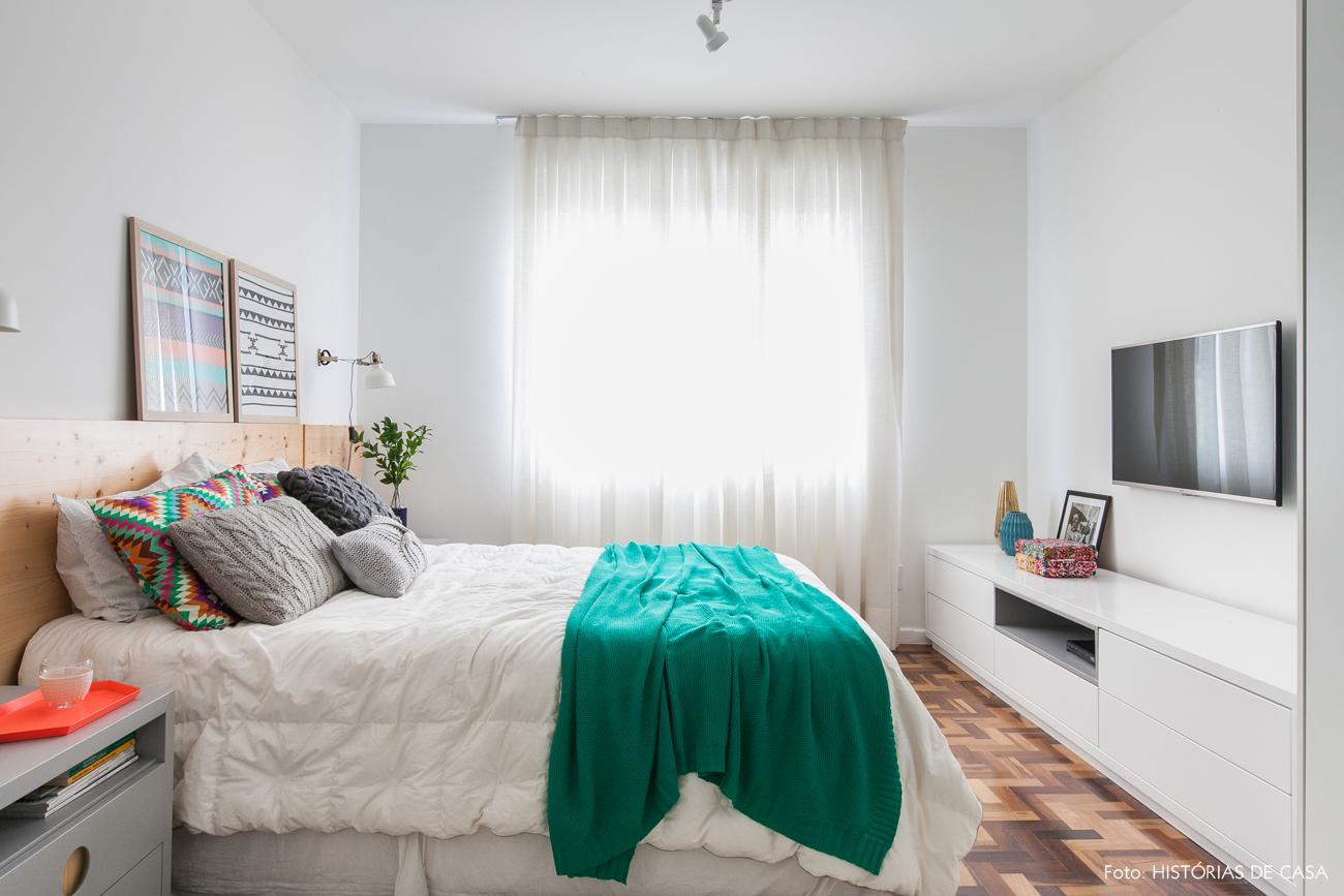 Quartos coloridos com ar escandinavo hist rias de casa - Cabecero estilo escandinavo ...