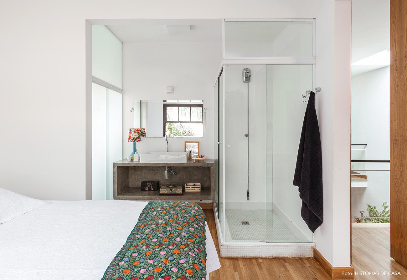 Banheiro Integrado Ao Quarto De Casal Projeto De Quarto De Casal  ~ Quarto Integrado Com Banheiro E Modelo De Quarto De Casal