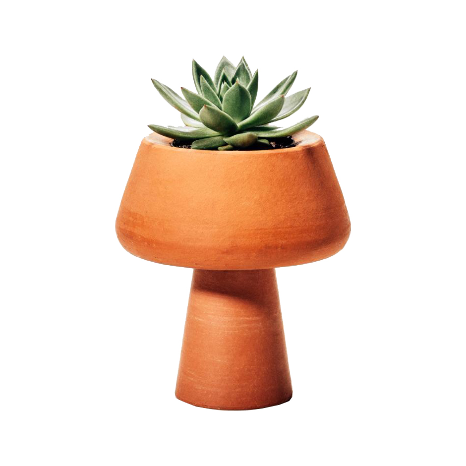 Vaso cachepot em terracota