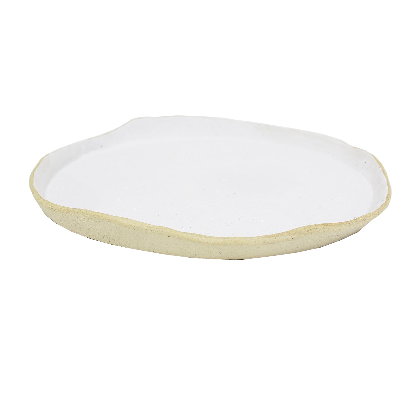 prato rústico borda alta branco