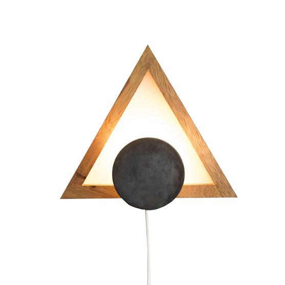 Luminária de parede Triângulo