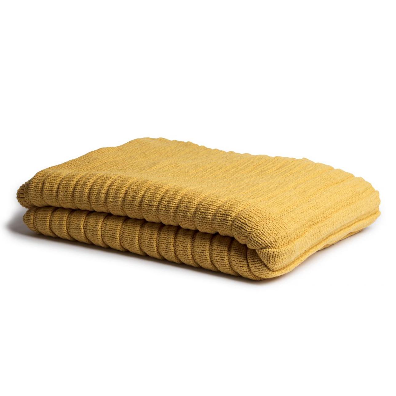 Manta tricot gomos