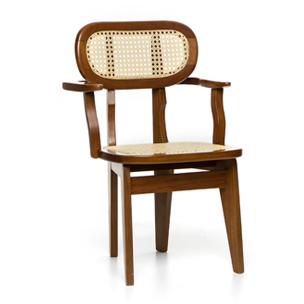 cadeira florida palhinha com braço