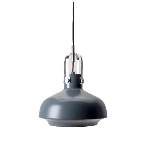 Luminária pendente cinza