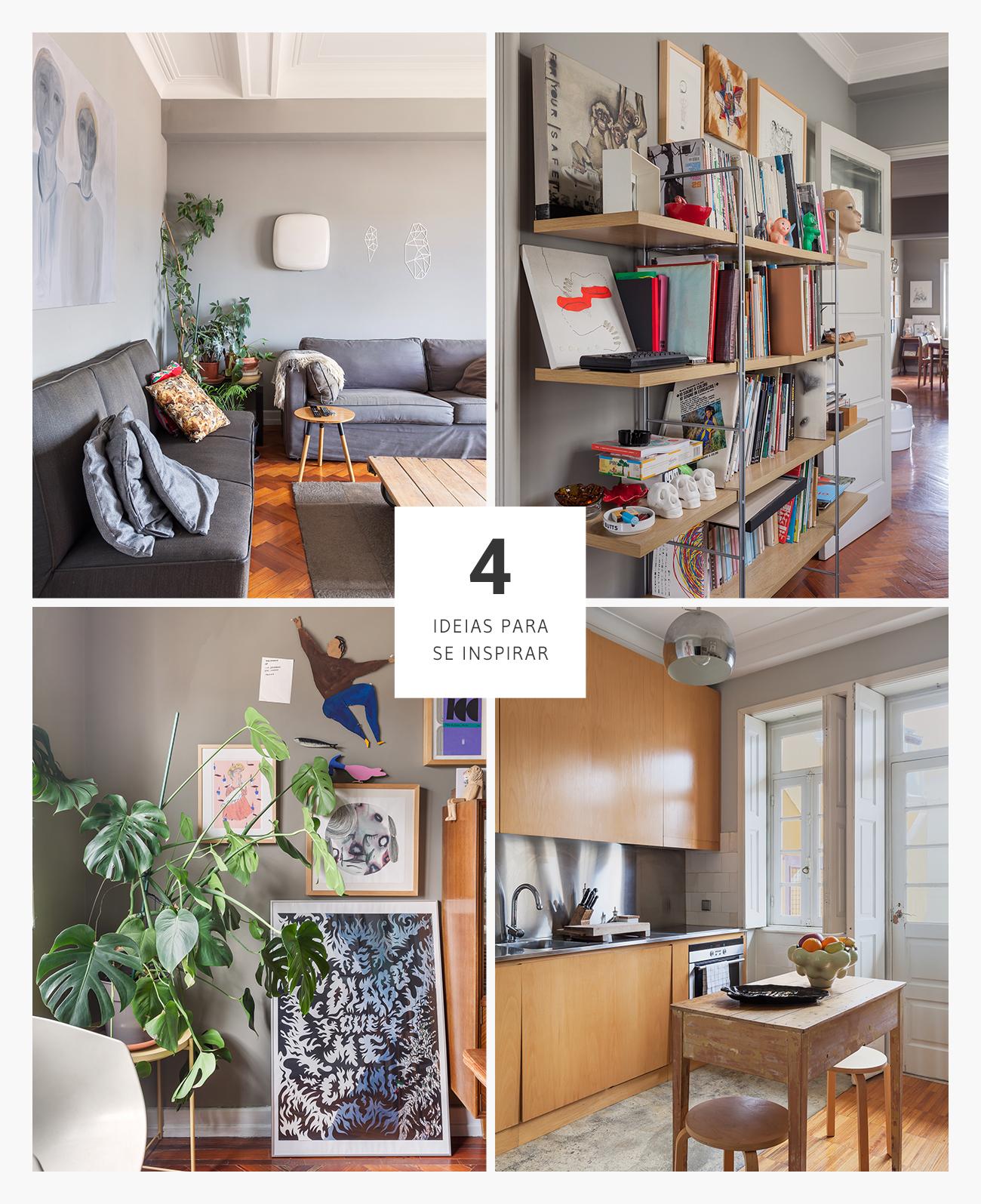 Boas ideias de decoração apartamento em Portugal