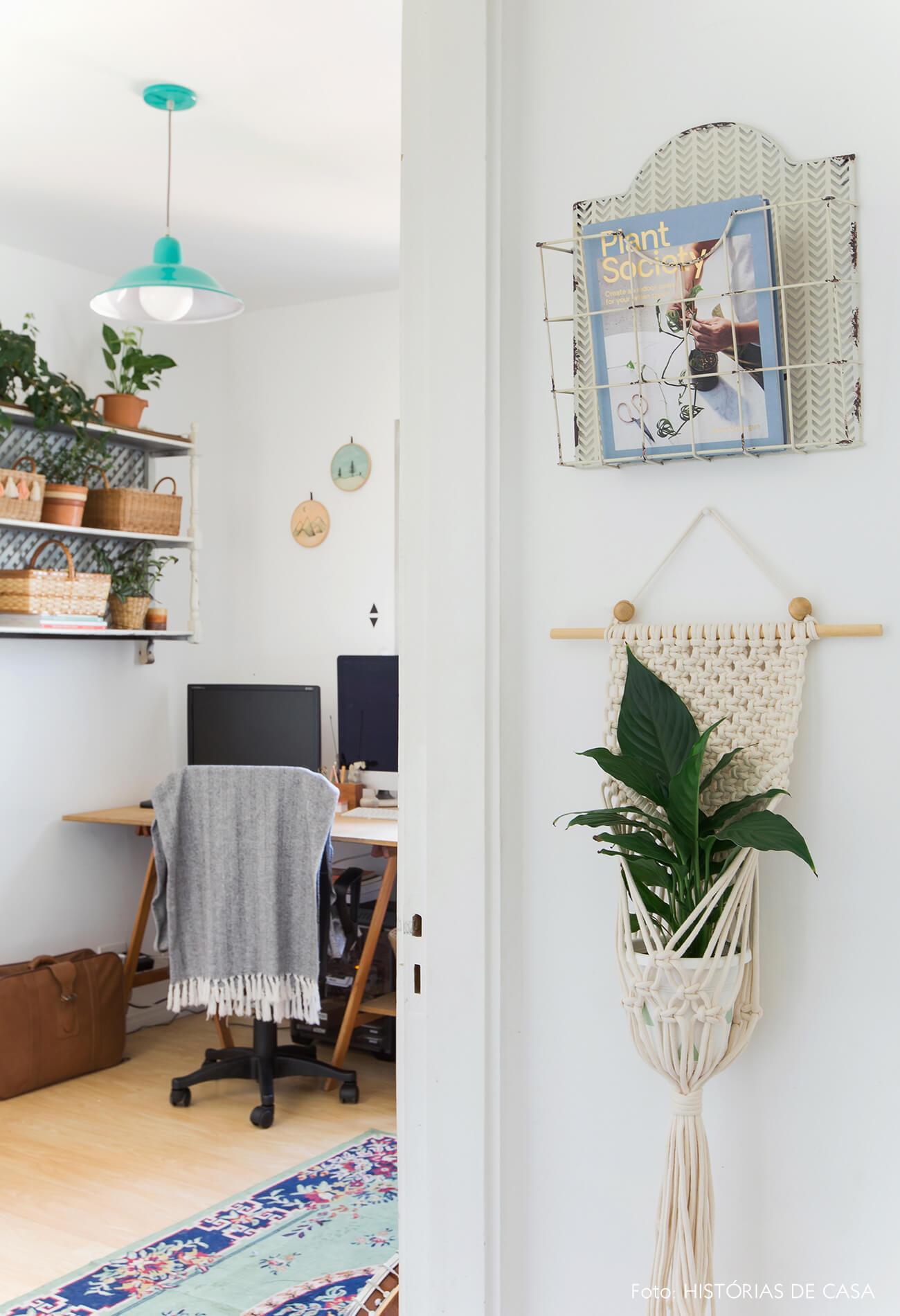 Home office e ateliê no apartamento