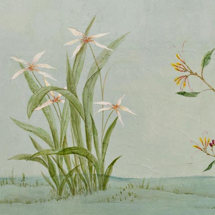 painel chinoiserie verde adriana e carlota