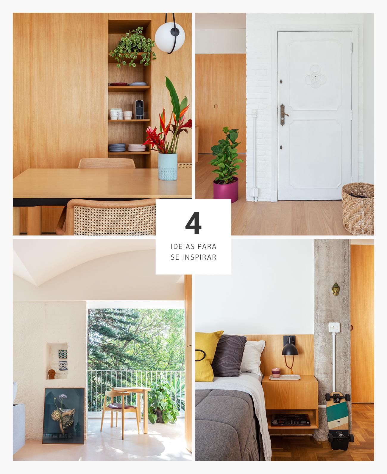 boas ideias de decoração em apartamento reformado