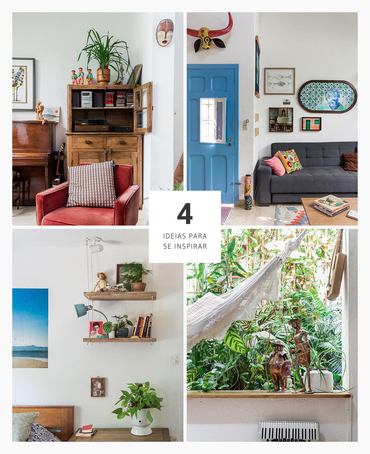 Casa colorida com boas ideias de decoração
