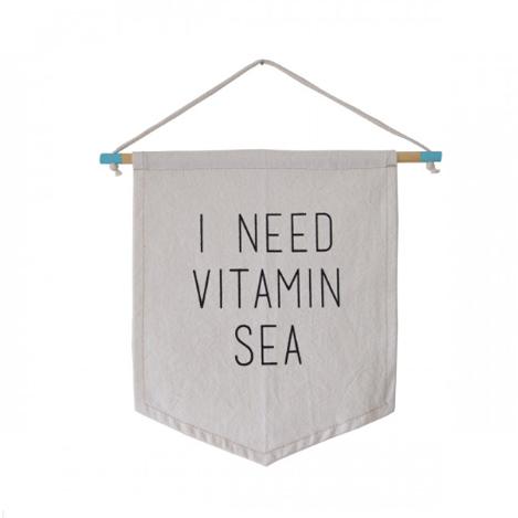 BANDEIRA SEA FLAG – I NEED VITAMIN SEA