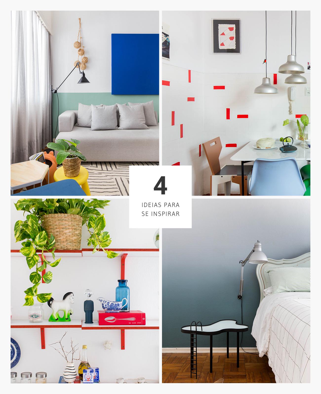 4 boas ideias de decoração sem reforma