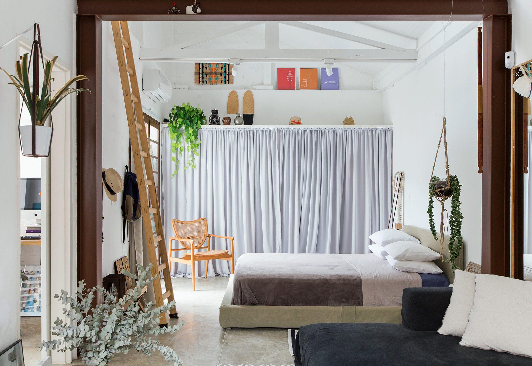 Casa estilo loft com espaços integrados