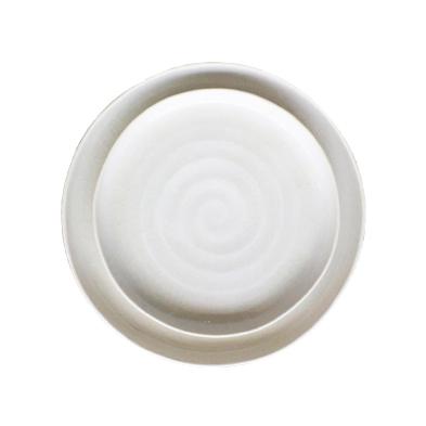 prato sobremesa porcelana – coleção ninho